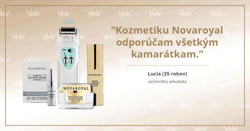 Kozmetika Novaroyal - skúsenosti